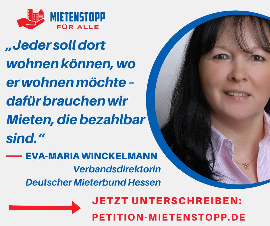 Testimonial von Eva-Maria Winckelmann DMB LV Hessen